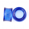 Blue Obsidian Concave Eyelets