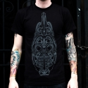 Kolo T-Shirt - Gray on Black