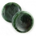 Canadian Green Nephrite Jade Plugs