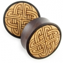 Catalox Plugs with Knot Inlays