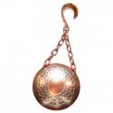 Copper and Silver Hanging Shield