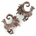 Copper Rooster Weights