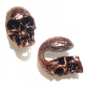 Copper Mini Skulls