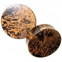 Dalmatian Ebony Plugs