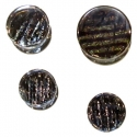 Glass Iridescent Plugs