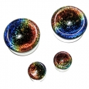 Glass Dichroic Rainbow Plugs