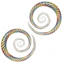 Glass Fishnet Spirals