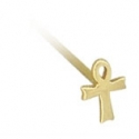 Gold Ankh Nostril Screw