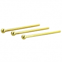 Gold Ball Nostril Screw