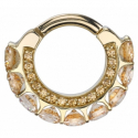 Gold Cirrus Septum Clicker