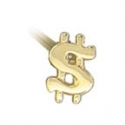 Gold Greenback Nostril Screw