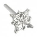 Gold Mini Pleades Nostril Screw