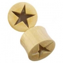 Mastodon Tusk Hollow Star Plugs