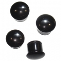 Black Onyx Single Flare Plugs