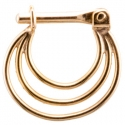 Gold Brilliant Soul Septum Clicker