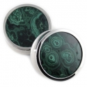 Reign Eyelets with Malachite Inlays
