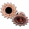 Rose Gold Afghan Plugs