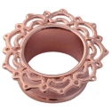 Rose Gold Lace Lotus Eyelets