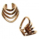 Rose Gold Plated Little Warrior Ear Cuff