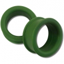 Silicone Eyelets - Olive <span class=