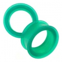 Silicone Eyelets - Emerald <span class=