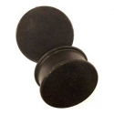 Silicone Plugs - Jet Black <span class=