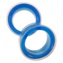 Silicone Eyelets - Translucent Blue <span class=