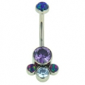 Surgical Steel Navel Cluster