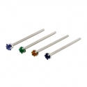 Surgical Steel Princess Cut Nostril Screw