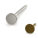 Titanium Matte Disc Nostril Screw