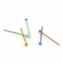 Titanium Spike Nostril Screw <span class=