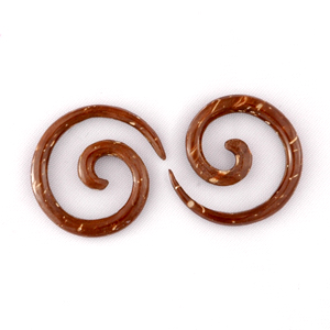 Coconut Shell Spiral