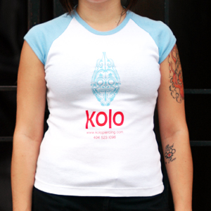 Kolo Baby Doll Shirt - Blue