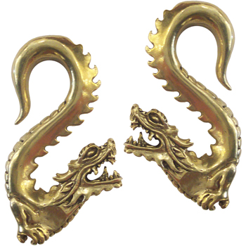 Brass Dragon Weights