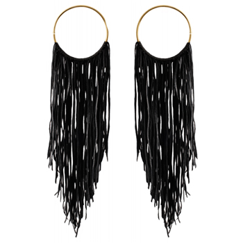 Brass and Leather Fringe