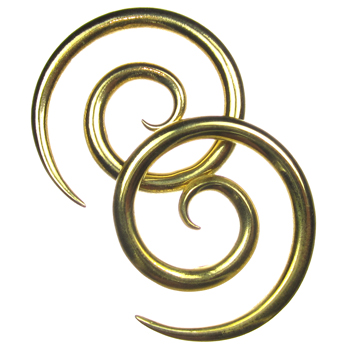 Brass Super Spirals