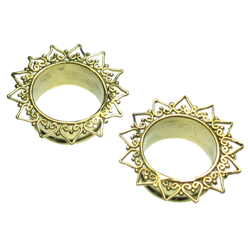 Brass Sunflower Eyelets
