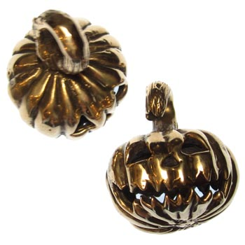 Bronze Jack-o-Lantern Weights