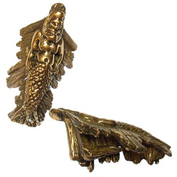 Bronze Merman Weights