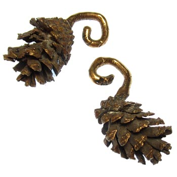 Bronze Pine Cone Weights