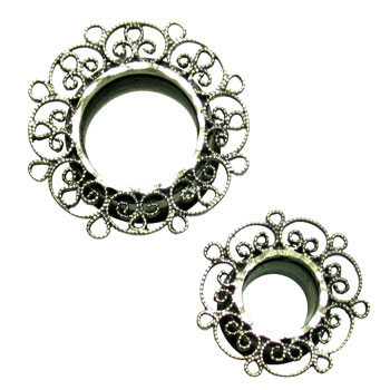 Catalox Eyelets with Silver Filigree