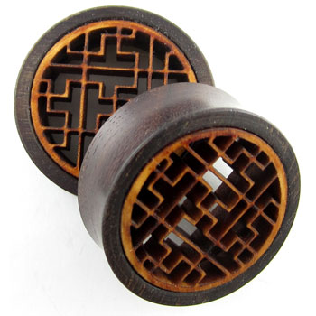 Catalox Geometric Labrynth Plugs