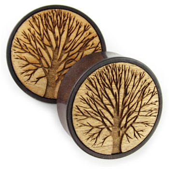 Catalox Plugs with Tree Inlays