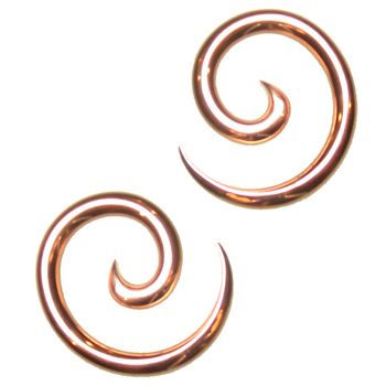 Copper Spirals