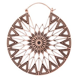 Copper Polaris Hoops