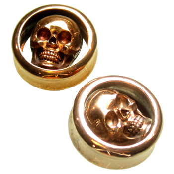 Copper Skull Plugs