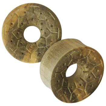Crocodile Wood Lotus Eyelets