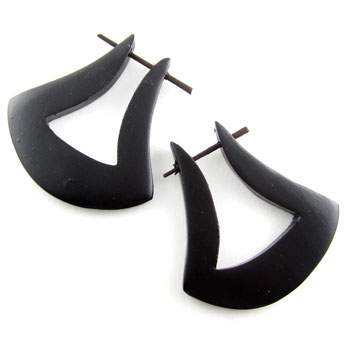 Ebony Axe Stirrups