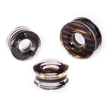 Glass Iridescent Eyelets