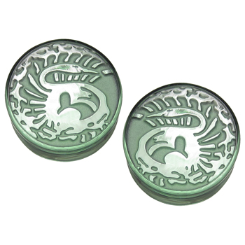 Glass Forgreen Melanie Plugs